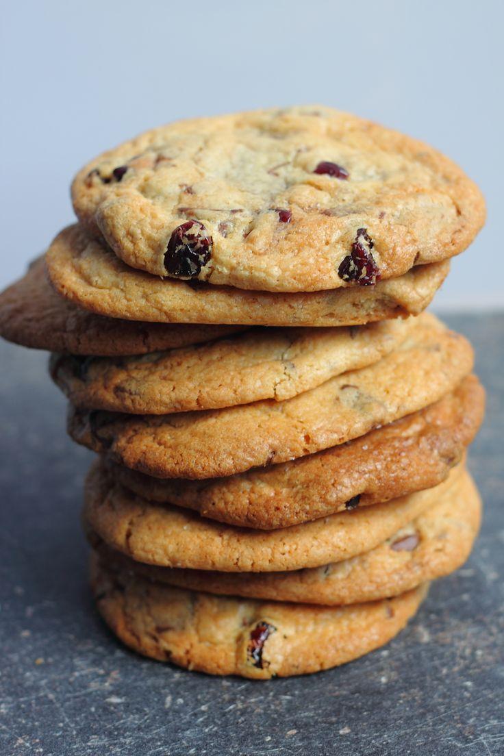 Chocolade nutella koekjes met cranberries / recipe chocolate nutella cranberry cookies