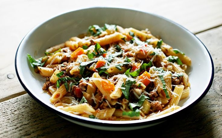 Lentil and the Mint: Jools' Pregnant Pasta - sausage and fennel
