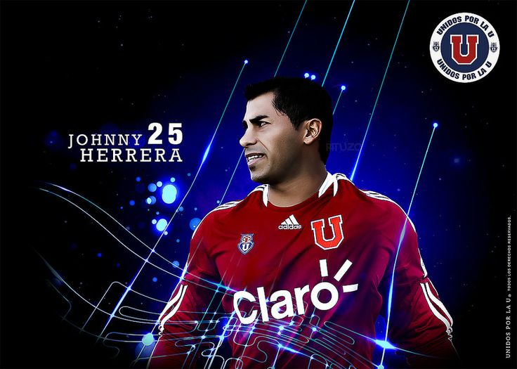 Wallpaper Oficial Unidos por la U Johnny Herrera ® by P4tUz0