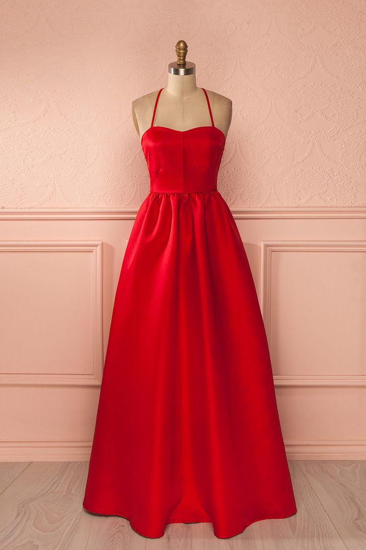 Want to look gorgeous? Valentine's day - Red Dress - Abeline Rouge from Boutique 1861 www.1861.ca