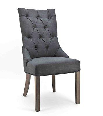 Mooi gecapitonneerde eetkamerstoel #stoel #comfort #interieur