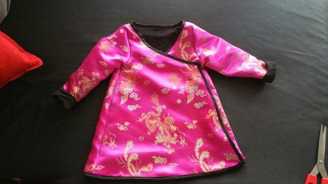 Déguisement de petite chinoise pour ma fille