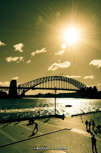 Sydney Harbour Bridge: can't believe i might climb this in August!