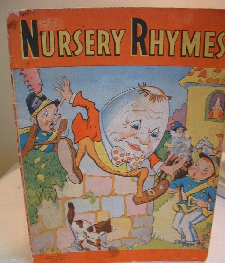who pushed humpty dumpty book