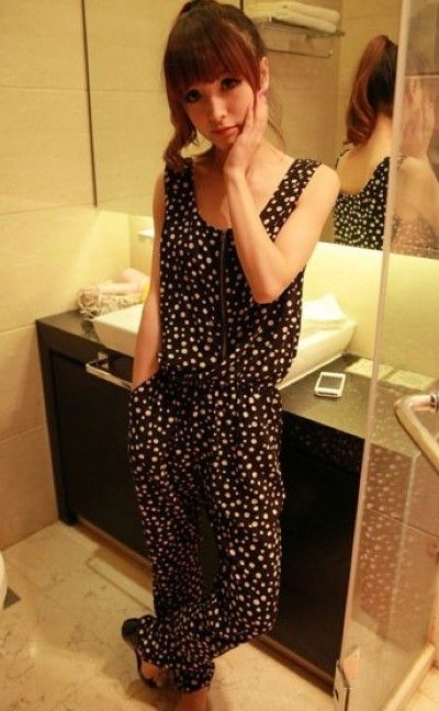 Short Formal Rompers for Women | Womens jumpsuits 2013 Korea comfortable summer plus size chiffon ...