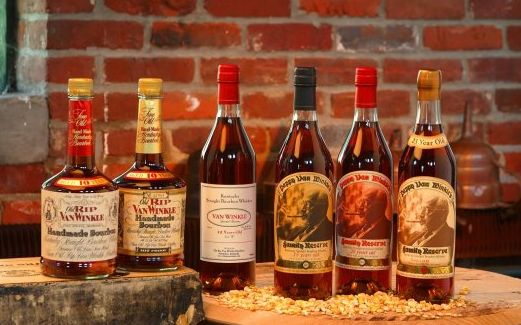 VanWinkle's the holy grail of Bourbon. 15/23. Since 2002, the Van Winkle brands have been distilled and bottled by the Sazerac Company at the Buffalo Trace Distillery as a joint venture with the Old Rip Van Winkle Distillery company. Frankfurt,KY.