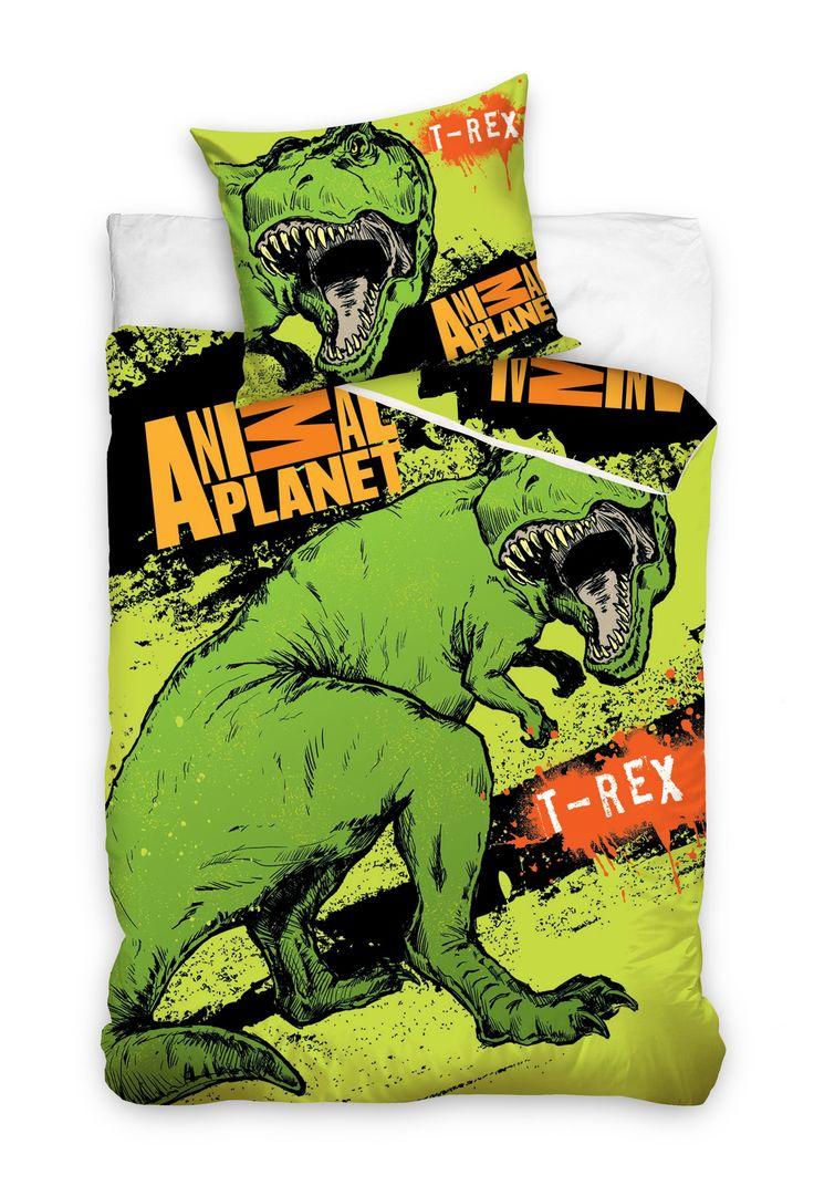 Animal Planet T-rex pościel 140x200