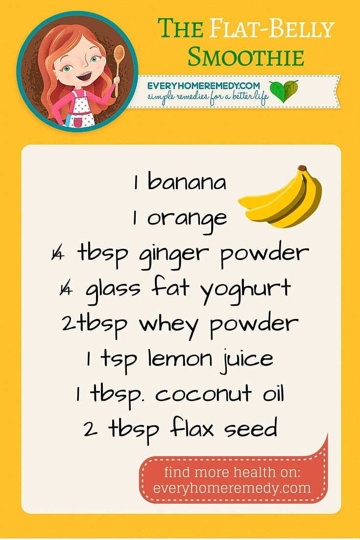 Yummy Banana Smoothie that Burns Belly Fat – Easy Recipe: