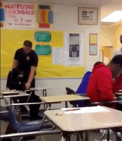 Video Captures Officer Picking Up And Throwing High School Student In Class - BuzzFeed News