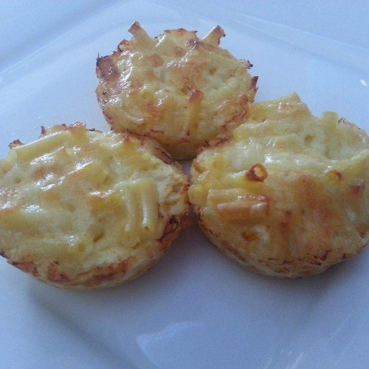 Recipe Macaroni Muffins by Caroline Rigg - Recipe of category Baking - savoury