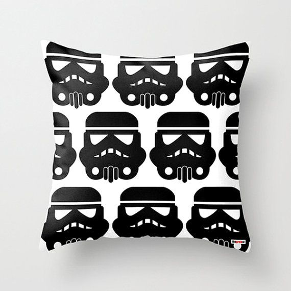 Star wars pillow covers  Boyfriend gift  Black and by thegretest, $55.00