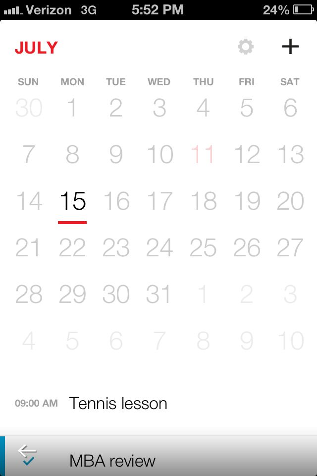 Getting started with Cal, the Any.Do calendar app via @CNET