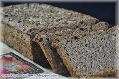 kierunek zdrowie: Chleb razowy na zakwasie - ze słonecznikiem - najlepszy!