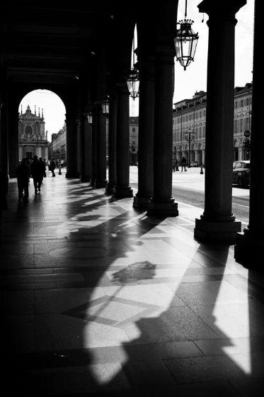 Primavera #Barilla en Italia Roma B/N