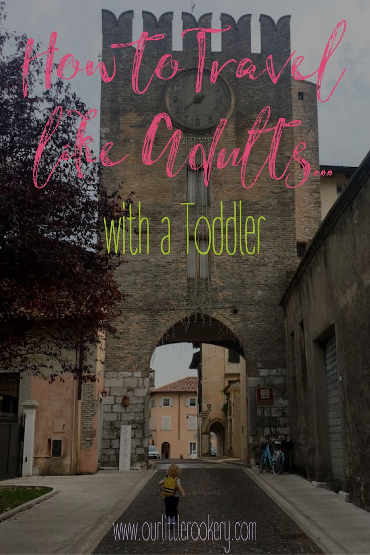 Traveling with a toddler isn't always easy, but it is possible! Here are five of our favorite tips for making it as enjoyable as possible from a family that travels a lot. #familytravel #traveltips #toddlertravel