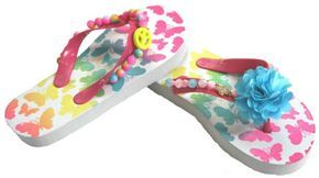 DIY Zomerse slippers pimpen