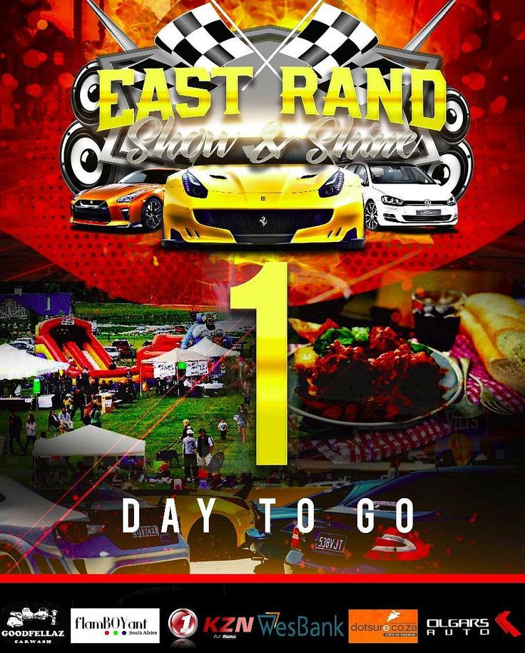 We are almost there! Just 1 DAY TO GO! #ERSS #ERSS17 #OLGARSAUTO #showandshine #Carshow #Cars #NewCars #usedcars #convoy