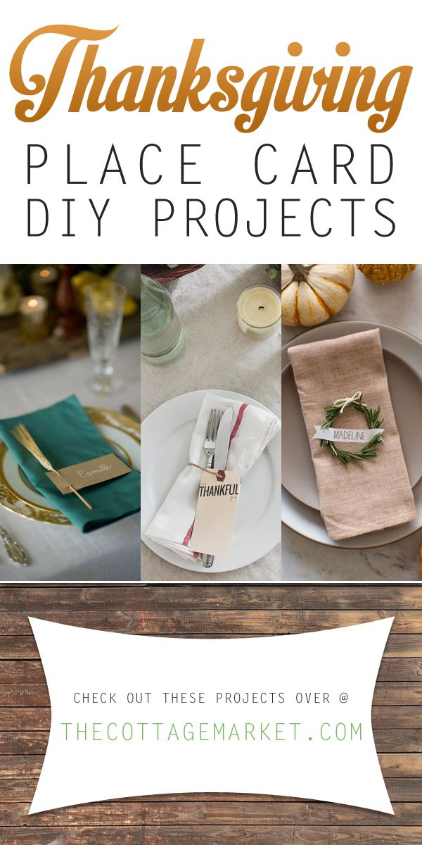 215 best images about centerpieces and table decor on for Diy thanksgiving table place cards