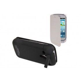 Funda Batería Samsung Galaxy S3 mini con tapa http://www.tucargadorsolar.com/funda-bateria-samsung-galaxy-s-3-mini-i8190-con-tapa.html