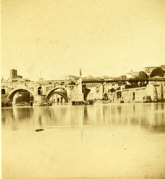 View of the Tiber and Ponte Rotto