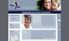 Website in Wordpress gebouwd voor Doen en Laten, ontwerp door Frouin Designs