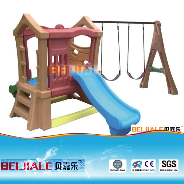 2017 Cheap Outdoor Plastic Swing Set For Children And Adults PT-SW009