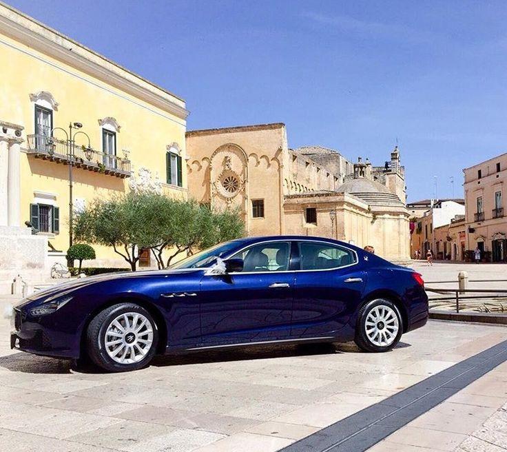 Alfie oggi ti propone la Maserati Ghibli.  Un'auto sportiva,elegante, accattivante, unica come il tuo matrimonio!  Contattaci e vieni a guardarla da vicino!  www.alfieauto.it  #autosportive #maseratighibli #maserati #ghibli