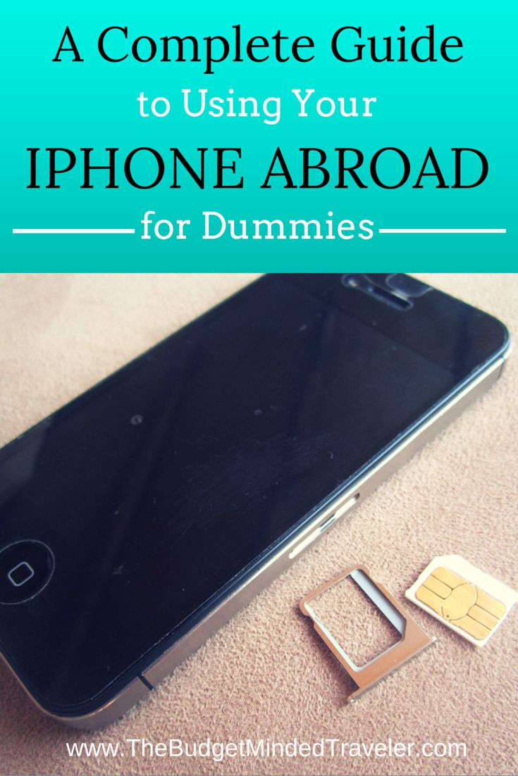 How to use your iPhone overseas - unlocking and using an international SIM, using with WiFi and airplane mode, or applying global data - AND, how to use a dumbphone overseas, too. It's ALL here.