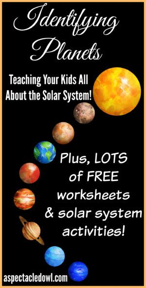 Identifying Planets - Teaching Your Kids All About the Solar System