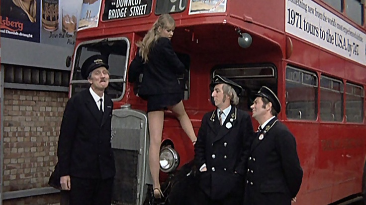 On the Buses - TV show.  Makes me shudder now but liked it as a kid.
