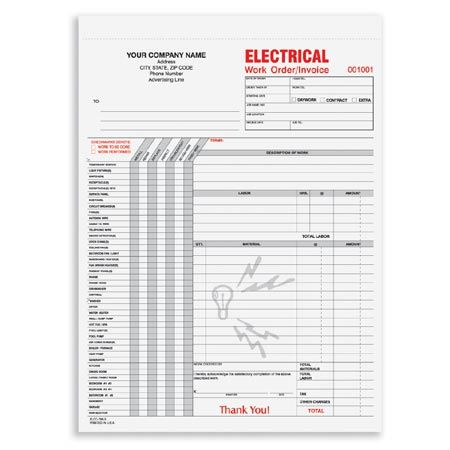 12 best Construction Forms images on Pinterest Business checks - electrician invoice template