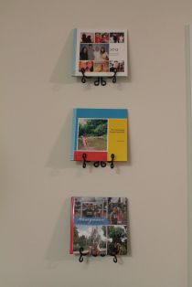 Get those shutterfly books off the shelf and show them off!