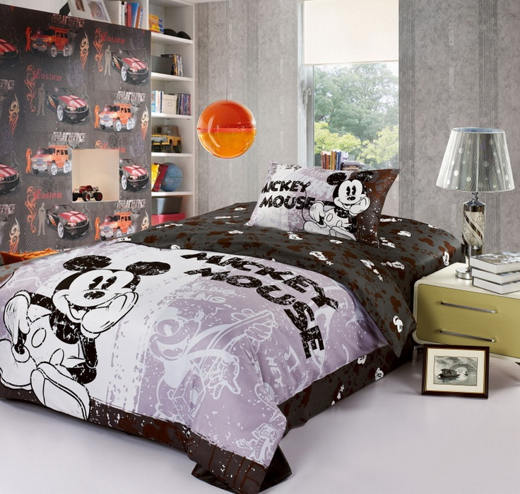 Mickey Mouse Black Disney Bedding Sets