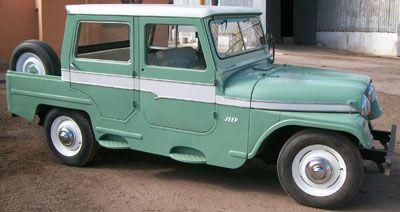 Auto Jeep IKA 1969