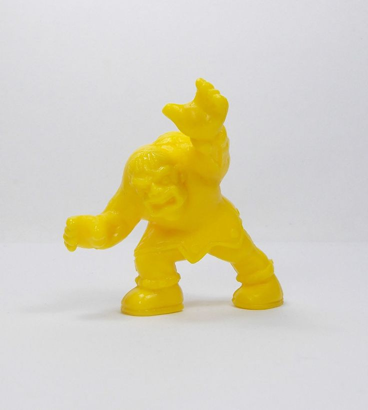Monster In My Pocket 48 Hunchback Series 1 Yellow Matchbox MIMP Figure