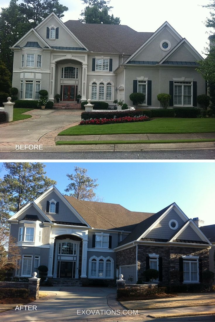 Home Exteriors: 21 Best Images About EXOVATIONS Before And After On