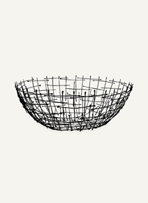 Metal Bowl: Twig Design, Studio.W
