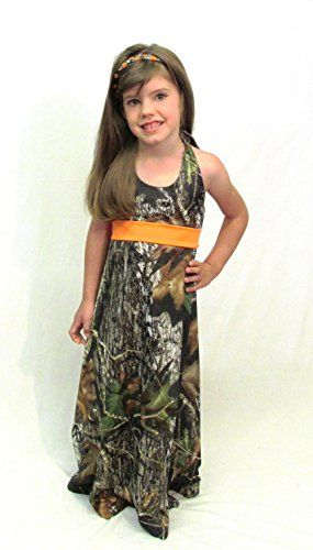 Camo Diva Katelyn Little Girls' Camo Dress:   Your toddler or youth girl will twirl in this easy to fit dress. Priced just right for the flower girl at any camo wedding or for every day.