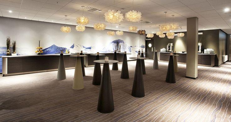 <br>Clizia Suspension by Adriano Rachele lights up the Clarion Hotel Sense, Lulea (Sweden)