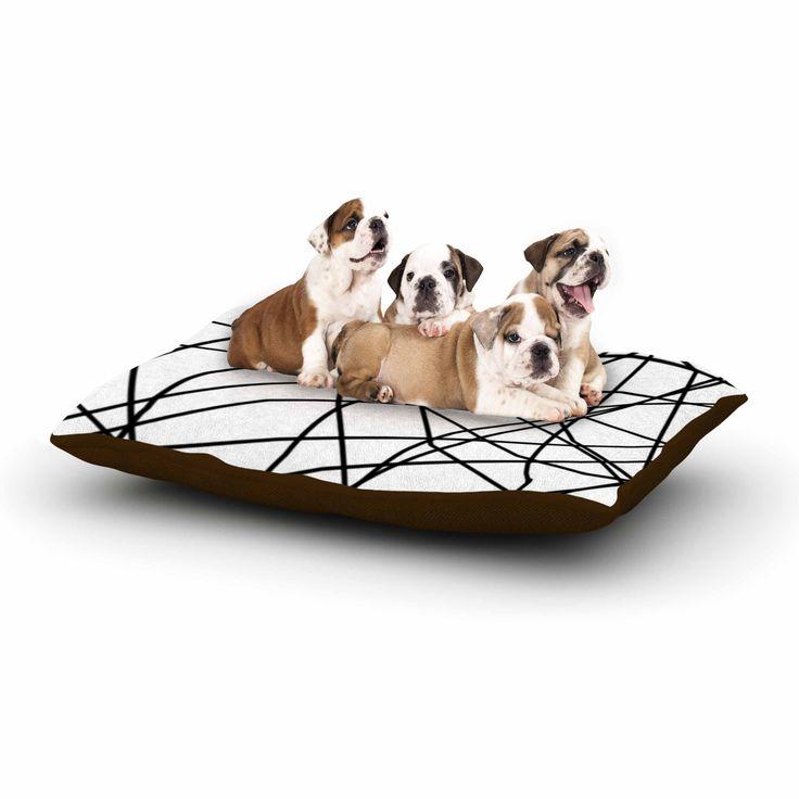 East Urban Home Trebam 'Paucina Dog Pillow with Fleece Cozy Top