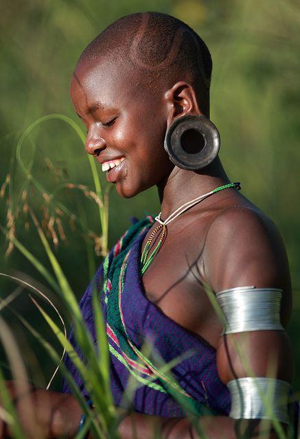 Suri Girl  -  Ethiopia