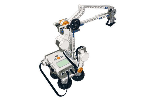 Crane LEGO Mindstorms NXT