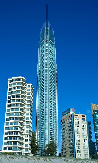 "Q1 Building, Gold Coast Australia"" by Steve Grunberger."