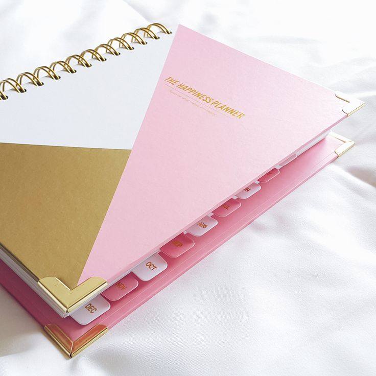 * THIS PLANNER IS DATED JULY 2016 - JUNE 2017. ** NEW COLOR: MINT & ROSE/COPPER GOLD ___________________________________________ The Happiness Planner : Focus on What Makes You Happy The Happiness Pla