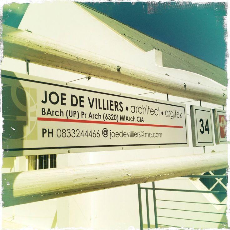 Joe De Villiers Designs ~
