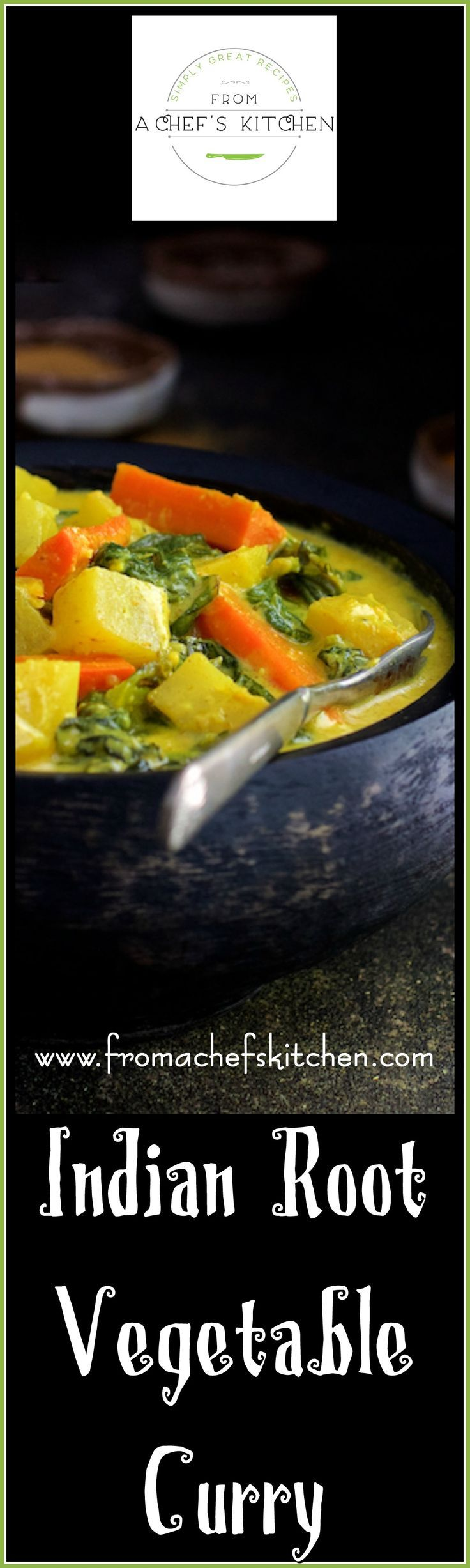 Indian Root Vegetable Curry is hearty and humble but over-the-top with flavor! It is the perfect down-to-earth dinner when life is crazy!