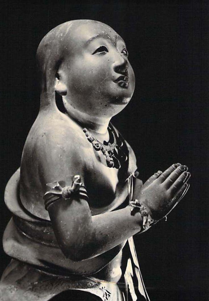 奈良 浄瑠璃寺 矜羯羅童子 Kongaradoji Jyoruridera Temple Nara Japan