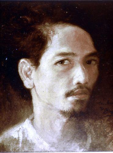 Trubus Soedarsono, Self portrait, circa 1947 - 1962