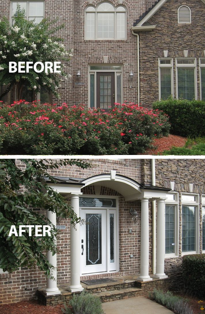17 Best Images About Curb Appeal Before Amp After On