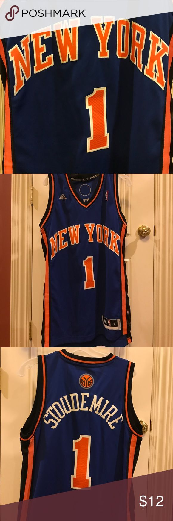 Mens New York Knicks Stoudemire adidas jersey Never worn. In perfect condition. Mens Small. Stitched and 100% authentic. Bought it from MSG. adidas Shirts Tank Tops